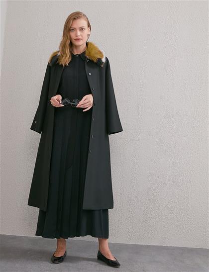 Coat-Black KA-A20-17036-12