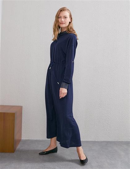 Elbise-Lacivert KY-A20-83017-11