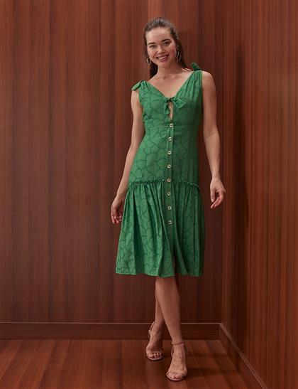 Elbise-Yeşil KA-B20-23019-25