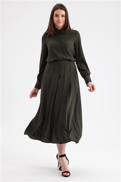 Skirt-Khaki V19KETK20015-26