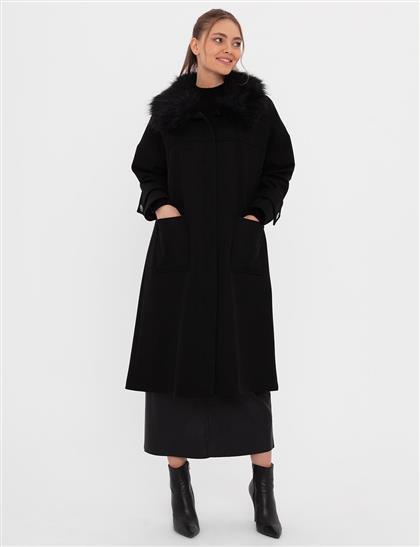 Coat-Black KA-A20-17027-12