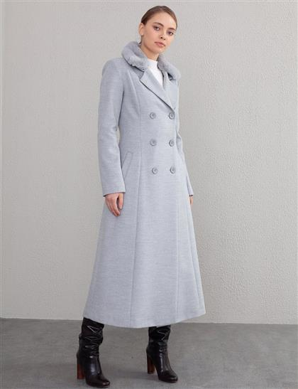 Coat-Gray KA-A20-18004-07