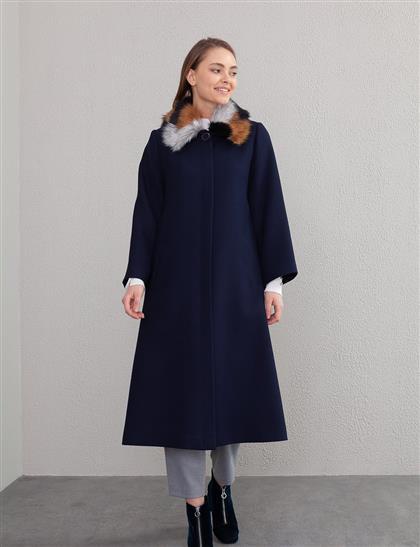 Coat-Navy Blue KA-A20-17036-11