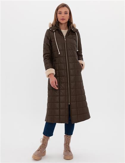Coat-Khaki KA-A20-17020-21