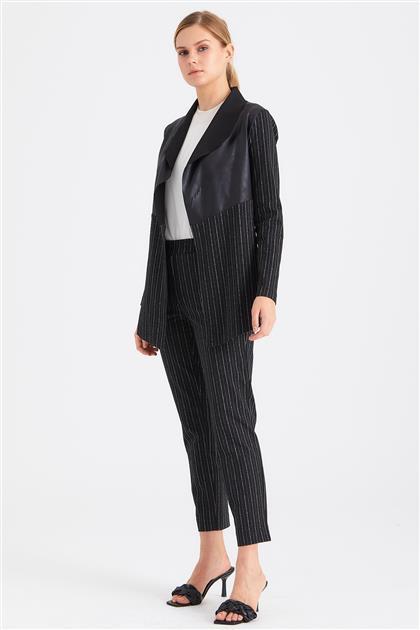 Çizgili Örme Kumaş Slim Fit Pantolon 20K1371002 20K1371002