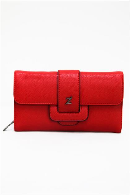 ZÜHRE Kırmızı Renk Kadın Cüzdanı C0009 Z20YB0009CZD102-R1143