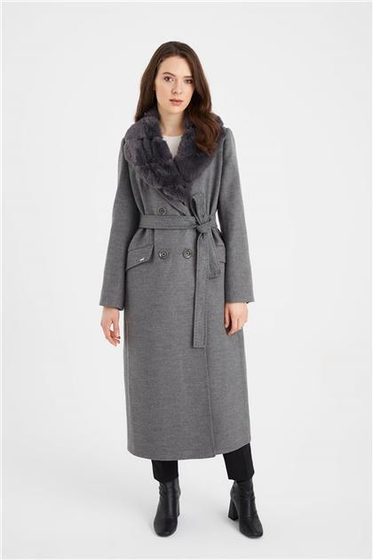 Coat Gray 12358 Z21KB12358ZBM10001-R1090