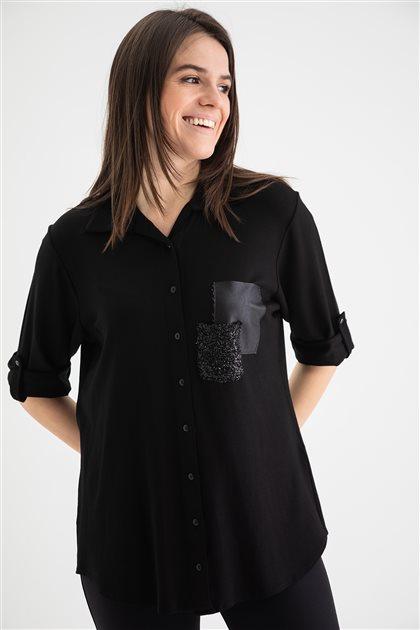 Shirt-Black 1709-01