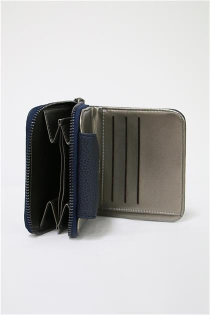 Navy Blue Wallet C0008 Z20YB0008CZD101-R1150