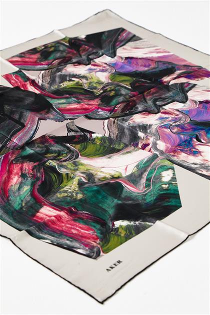 Silk Scarf 8129701-317