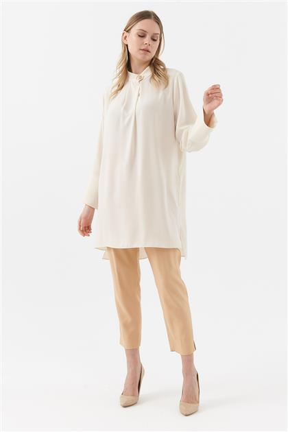 Tunic-Cream KY-B20-81341-13