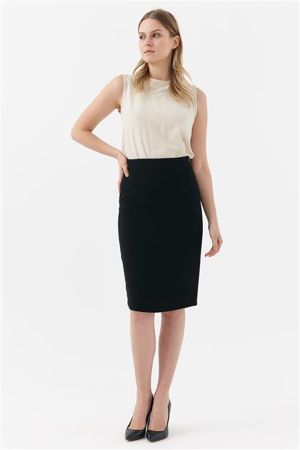 Skirt-Black KA-B20-12044-12