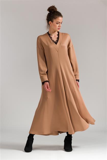 5078 - فستان بيج