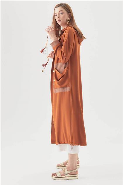 V18B6930 بني ملابس خارجية