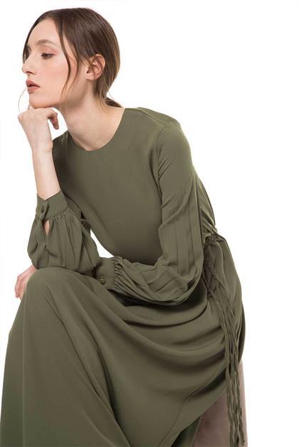 Khaki Dress V20YELB17023