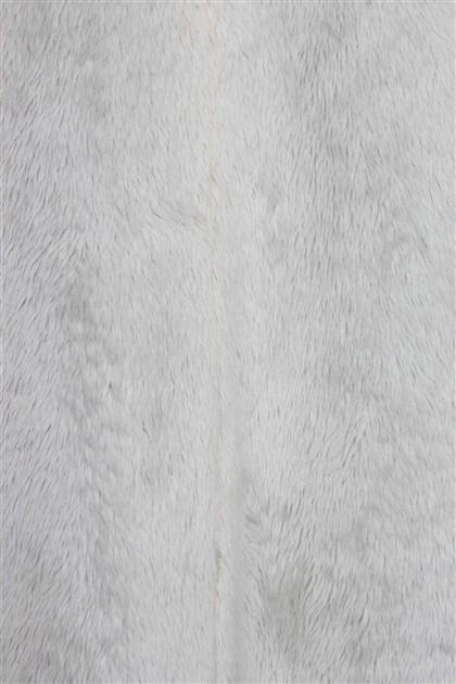 V20KKPM27030 جاكيت طويل أبيض