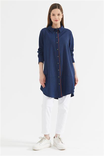 Tunic-Navy Blue KA-A20-21257-11