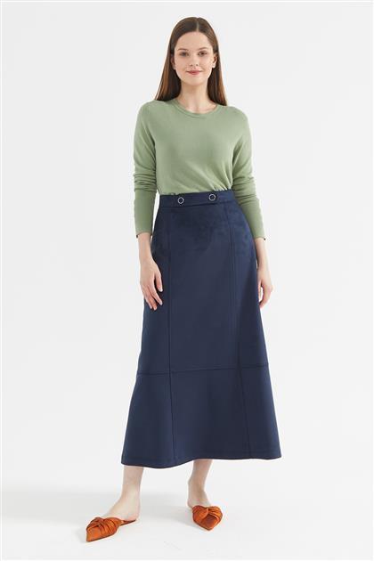 Skirt-Navy Blue KY-A20-72503-11