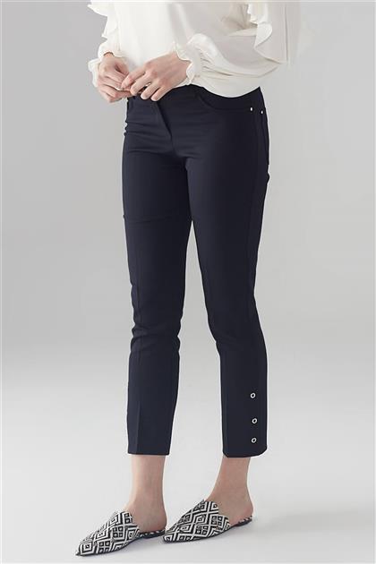 ZÜHRE Paça Rivet Detaylı Pantolon Lacivert P-0107 Z21YBP-0107PT10001-R1150