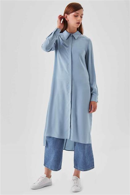 Shirt Blue Tunic V19YTNK45082