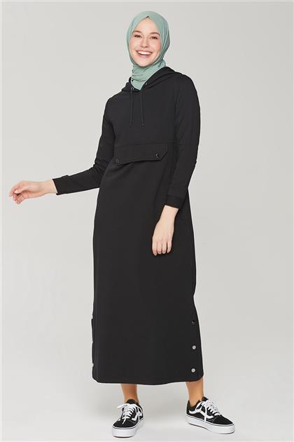 Armine Elbise 21YA8201 Siyah