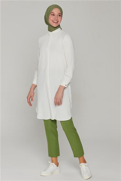 Armine Pantolon 21Y2029 Koyu Yeşil