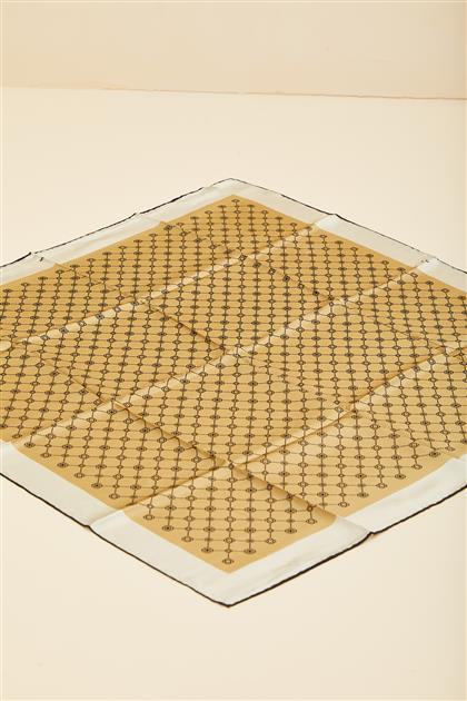 Silk Crepe Saten-Patterned 7857701-316