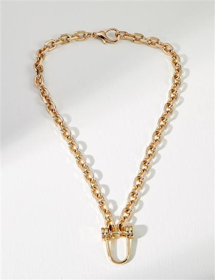 Küçük Zincir Kolye Gold B21 KLY03