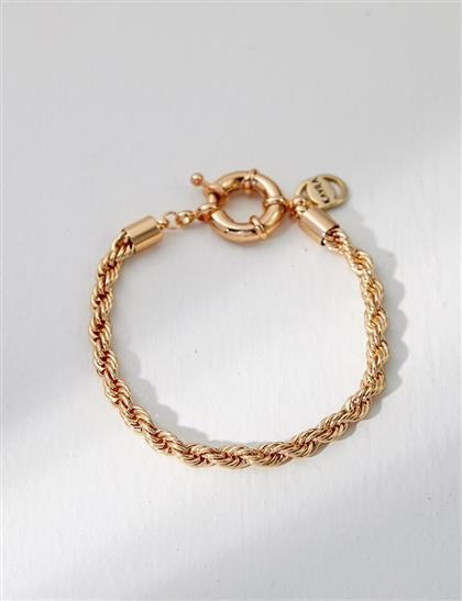 Burma Hasır Bileklik Gold B21 BLK03