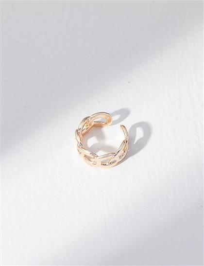 Zincir Yüzük Gold B21 YZK03