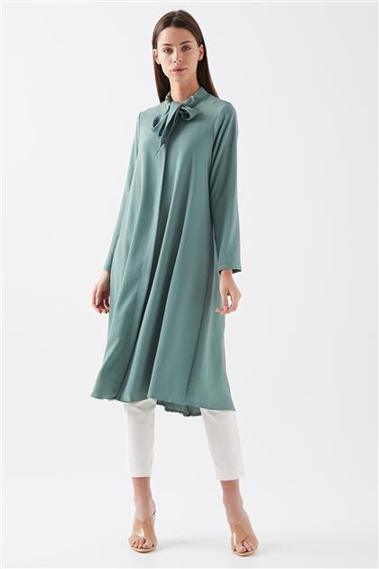 Gizli Patlı Tunik-Yeşil 1082697-21