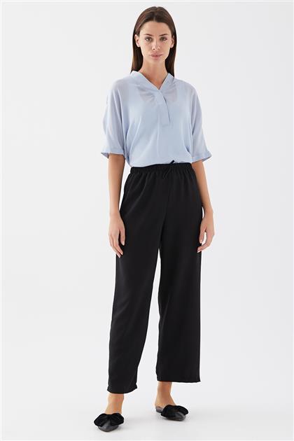 Lastik Bel Pantolon-Siyah 1082641-01