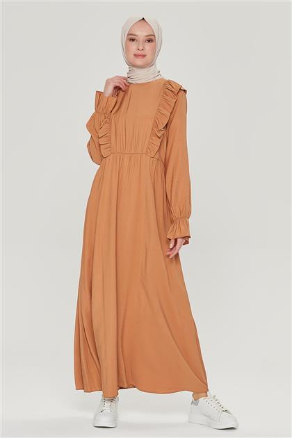 Armine Elbise 21Y9236 Camel