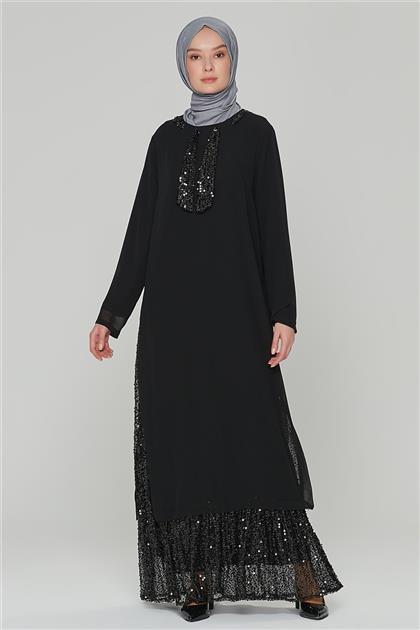Armine Elbise 20Ya3326 Siyah