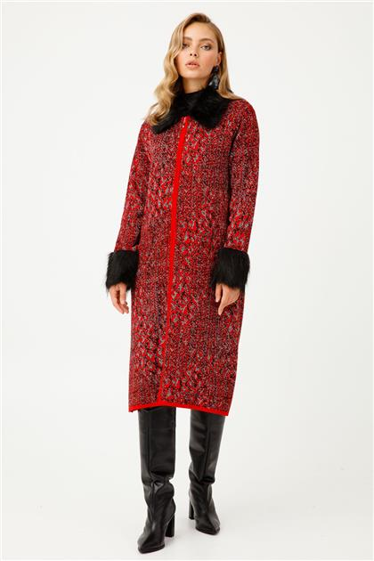 Patterned Knitwear Cardigan 9818
