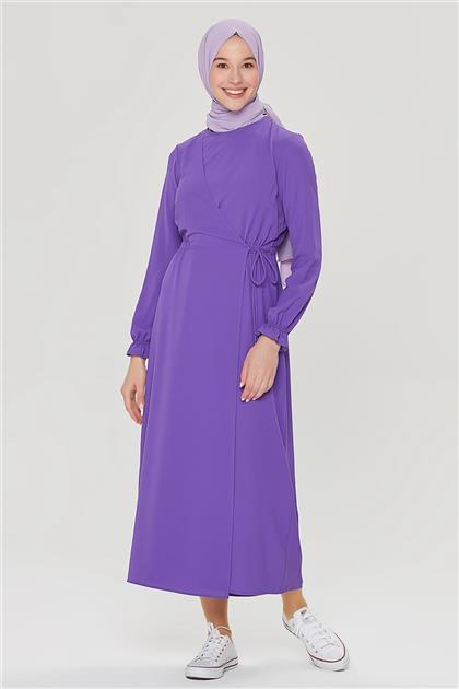 Armine Anvelop Elbise 21Y9230 Mor