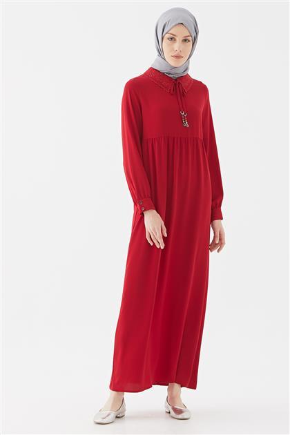 Elbise-Kırmızı DO-B20-63014-19
