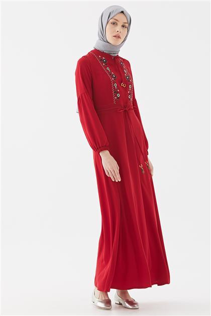 Elbise-Kırmızı DO-B20-63011-19