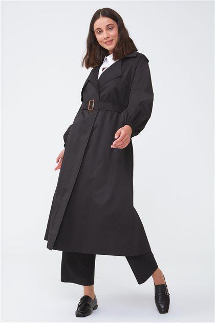 Trenchcoat-Black 2708.TRN.429.1-01