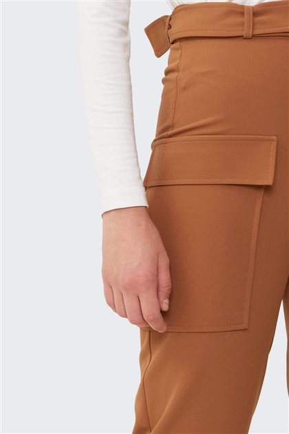 Cep Detaylı Pantolon-Camel 2659.PNT.257.1-46