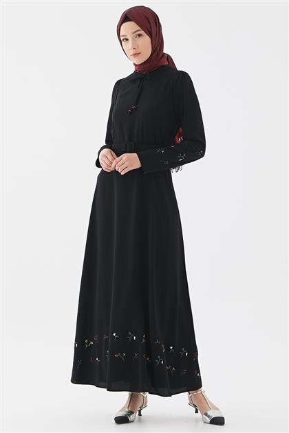 Elbise-Siyah DO-B20-63019-12