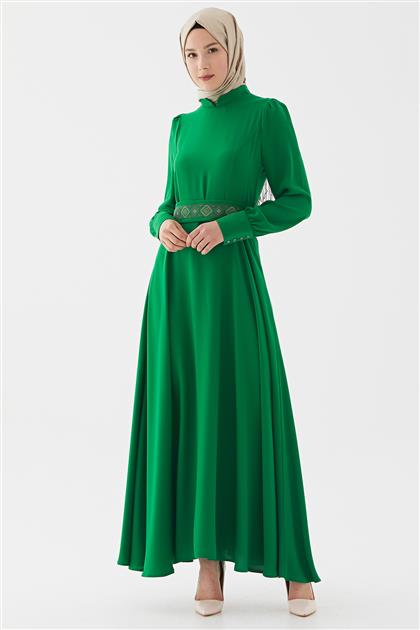Dress-L.Green DO-B20-63026-30