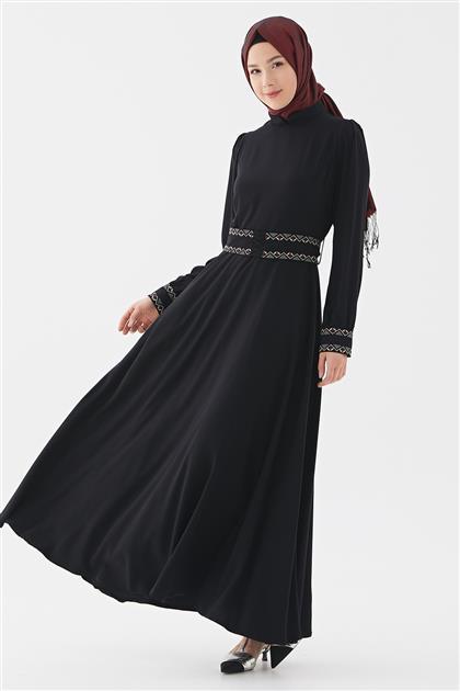 Elbise-Siyah DO-B20-63025-12