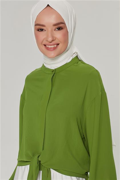 Armine Gömlek 21Y3951 Fıstık Yeşili