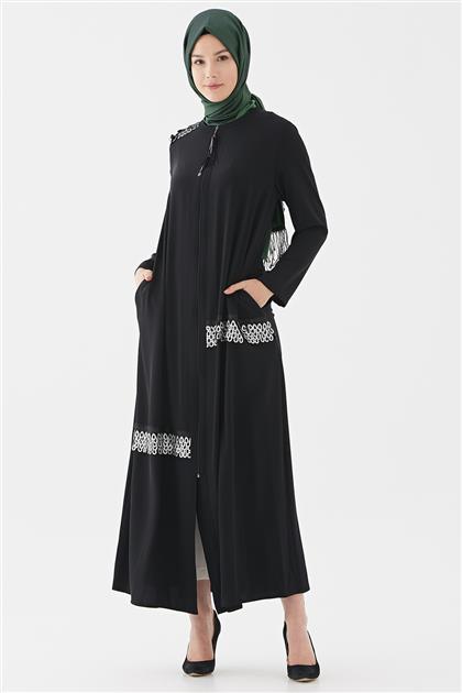 Pardesü-Siyah Gümüş 719YPRD70171-01-95