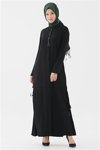 Abaya-Siyah 720YABA60004-01