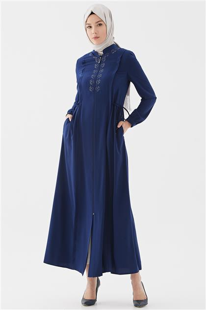 Topcoat-Navy Blue 720YPRD70047-02