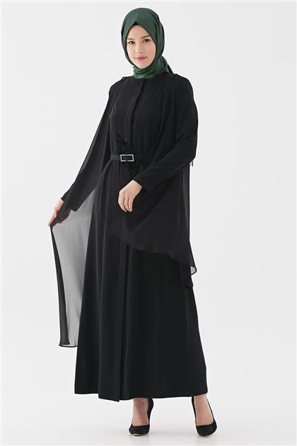 Abaya-Siyah 720YABA60010-01