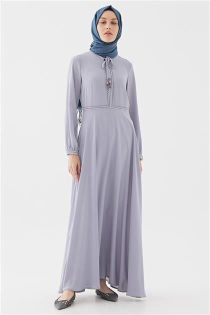 Elbise-Gri DO-B20-63023-07