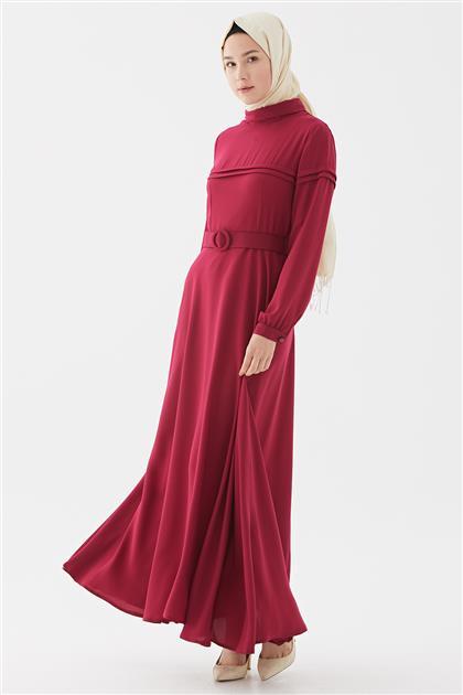 Elbise-Fuşya DO-B20-63021-04